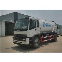 Isuzu FTR 205HP 12000 Liters Vacuum Suction Sewage Fecal Truck
