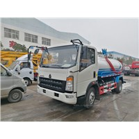 Sinotruk Howo 5 Cubic Meter Fecal Suction Truck for Sales