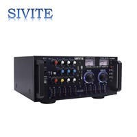 SIVITE Home Theater Loudspeaker 35W Intelligent Indoor Mixing PA Amplifier with USB Karaoke Music KA888W