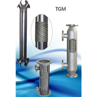 ASTM Standard Followed Stainless Steel Shell & Tube Heat Exchanger