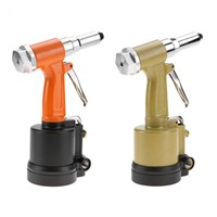 KP-701 Short Cylinder Pneumatic Rivet Gun Industrial-Grade Riveting Rivet Gun Air Hydraulic Riveter-Professional