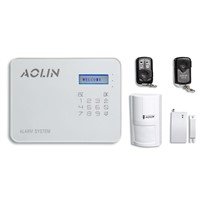 Aolin - LCD Touch Type Host, Wired/Wireless, Mobile Remote Control System, Home Alarm System