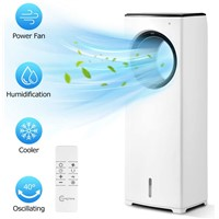 Comfyhome 2-in-1 32 Inch (about 81.3 Cm) Evaporative Air Cooler & Tower Fan, with Cooling & Humidification Functions