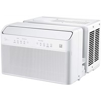 Midea u Inverter Window Air Conditioner 8000btu, the First U-Type AC with Window Opening Flexibility