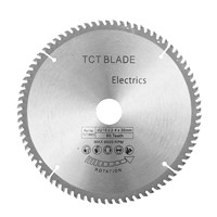 210 * 30mm TCT Carbide Tipped Circular Saw Blade 80T HSS Cutting Disc Tooth