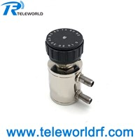 2W SMA Rotary Variable Attenuator 3GHz 6GHz 1dB 10dB 60dB 90dB 50ohms