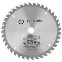 Circular Saw Blade 165 * 2.3 * 20mm 40 Teeth Rotary Tool Cutting Disc