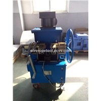 Wire Rope Cutting & Tapering Machine