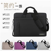 "13 14 15.6 17.3 ""Men's & Women's 13.3"" Single Shoulder Portable Laptop Bag Waterproof & Shockproof Computer Ba"