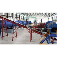 Organic Fertilizer Machine with Professional Design, Production, & Professional Installation &Commission