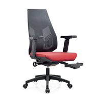 Luxury Reclining Executive Office Chair with Footrest