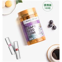 Healthy Care Grape Seed Powder Eat Whitening Essence Tablet Australian Anthocyanin Capsule Flecks 180