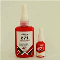 Red Color Loctite Quality Thread Locking Adhesive Threadlocker 271