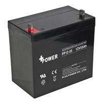 12V55AH Storage Batteries with Rechargeable