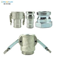 Riwoofluid Aluminum Stainless Steel Brass Female Male Camlock Hose Couplings Quick Coupling Pipe Fitting Coupler