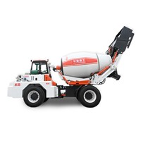 3.5cbm Self Loading Mixer Self Loading Concrete Truck