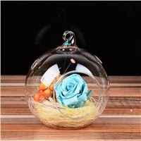 Hanging Glass Terrarium Vase Home Decoration Creative Candle Holder Wedding Decorative Props