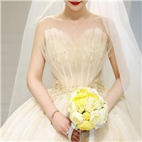 Star Light Master Wedding Dress 2020 New Pregnant Bride Mori Super Fairy Dream European Style Woman