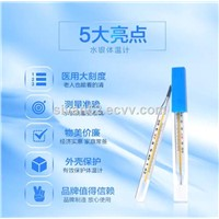 Mercury Thermometers for Medical Household Use