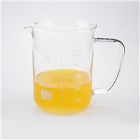 Handle Glass Beaker with Spout & Scale High Boro 3.3 Glass Material Laboratoryware