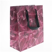 Plain White Paper Apparel Promotion Retail Paper Bag