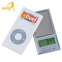BDS DH Mini Pocket Scales 300g 0.1g Jewelry Weighing Scales