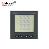 Acrel High Accuracy Voltage Range AC/DC 85-265V Power Meters AMC72L-E