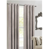 Polyeter Velvet/Velour Window Curtain