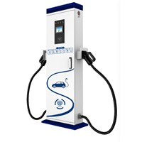 2020 New Model Fast Electric Car Charger 30KW AC 38V 16amp Electrical Vehicle Charging Station