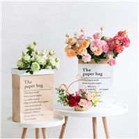 Artificial Chinese Peony Flower Home Decoration Imitation Fake Flowers Living Room Wedding Decoration