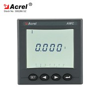 ACREL Intelligent Design Voltage Current Power Meter Display Single Phase LCD Voltage Display Meter AMC72L-AI