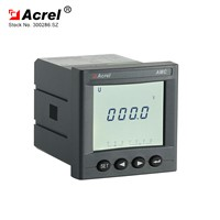 ACREL New Arrival AMC72L-AV Power Consumption Lower Than 5VA Single Phase LCD Voltmeter
