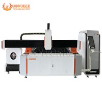 Factory Price 3015 Fiber Laser Cutting Machine, Steel Tube Plate Fiber Laser Cutting Machine