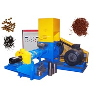 Dry Floating Fish Feed Machine