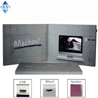 4.3inch LCD Video Brochure for Promotion Advertising