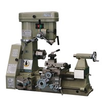 Multi-Purpose Machine for Turning, Milling, Drilling, Boring & Thread-Cutting