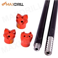 Carbide Thread Button Taphole Drill Bit