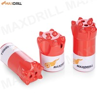 Share Maxdrill 38mm Tapered Button Bits for Mining with 11 Degree
