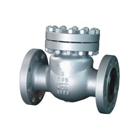 Cast Steel Swing Check Valve A216 WCB Flanged RF