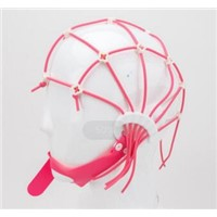 EEG Cap - Silicone Strip New Elastic Mesh Cap, Bridge Electrode & Crocodile Clamp Electrode, for Easy Positioning