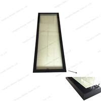 New Aluminium Profile Glass Door Design