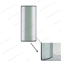 Showcase Display Curved Insulating Glass Door