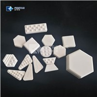 Wholesale Alumina Ceramic Lining Plates for Elbow 17.5*17.5