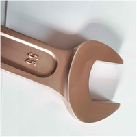 Non-Sparking Wrench Striking Open Box 55mm Breyllium Bronze Manufacturers Selling Quantity Safety Tools