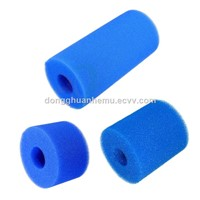 Factory Direct Soap Dish Filter Sponge, Shaped Foam Filter, Cylindrical Filter Tube Customization