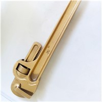 Manufacturer Non-Sparking Wrench Pipe (British Type )Aluminum Bronze 14""