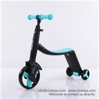 Civa 3-in-1 Kids Scooter H02B-3-1 PU Wheels Children Ride on Toy Car