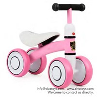 Civa Kids Balance Bike N01B-Z7 Pink Children Ride on Toy Car