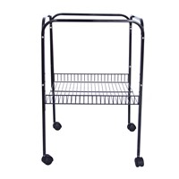 High Quality Metal Wire Pet Cage Frame with Wheels