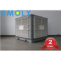 Moly 1.1kw 220V 50hz 60hz 18000CMH Industrial Water Workshop Evaporative Air Coolers